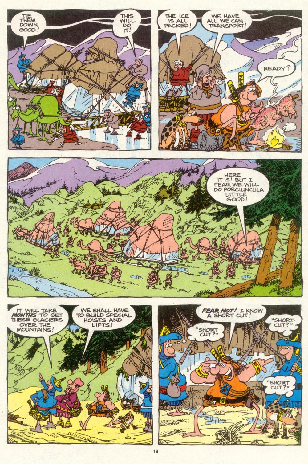 Read online Sergio Aragonés Groo the Wanderer comic -  Issue #94 - 20