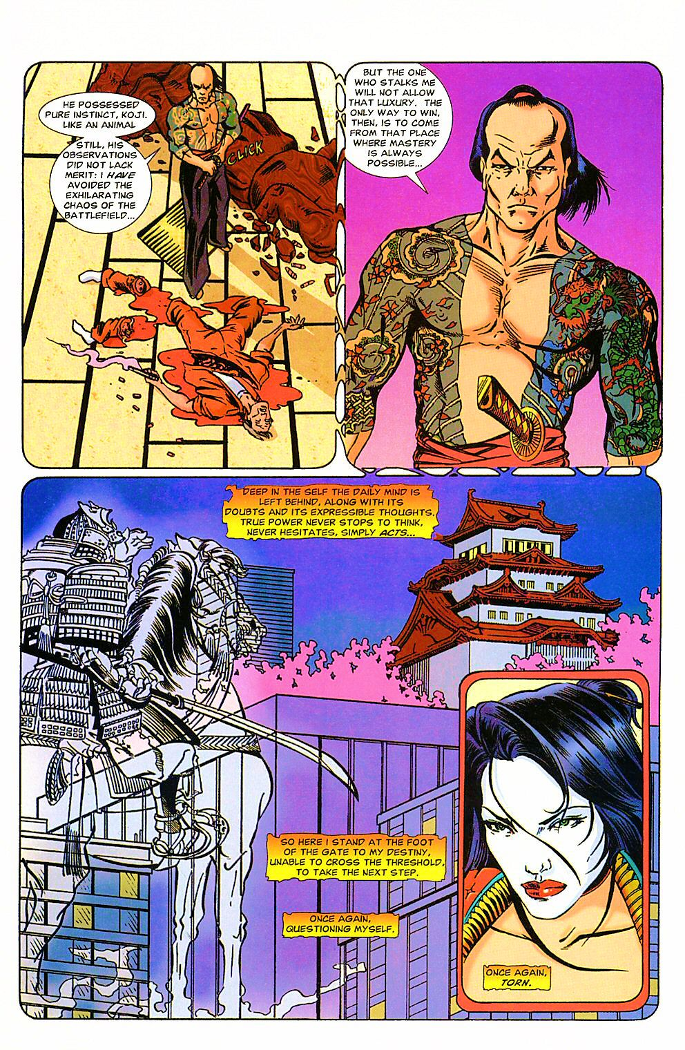 Read online Shi: The Way of the Warrior comic -  Issue #4 - 9