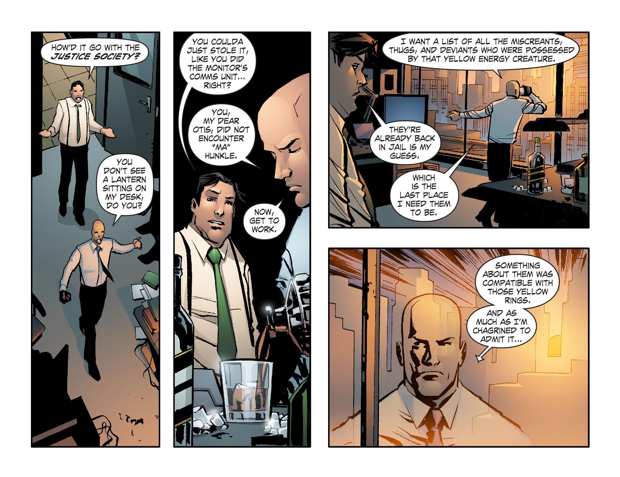 Read online Smallville: Lantern [I] comic -  Issue #12 - 21