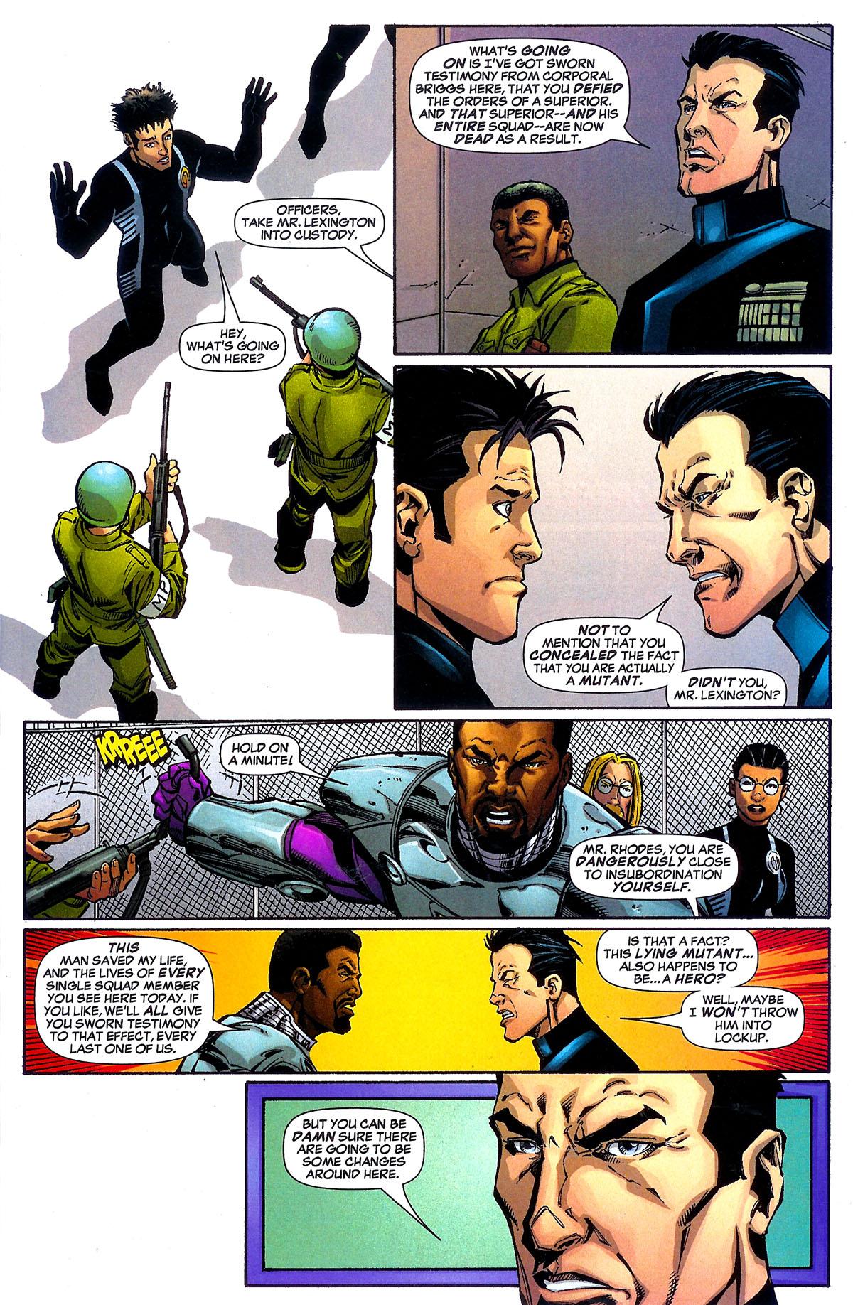 Read online Sentinel Squad O*N*E comic -  Issue #5 - 4