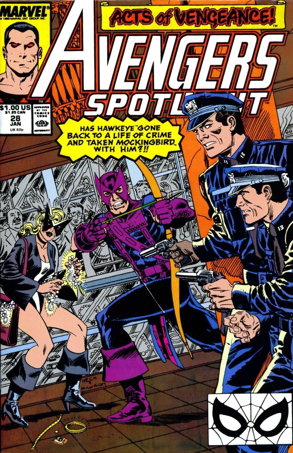 Avengers Spotlight 28 Page 1