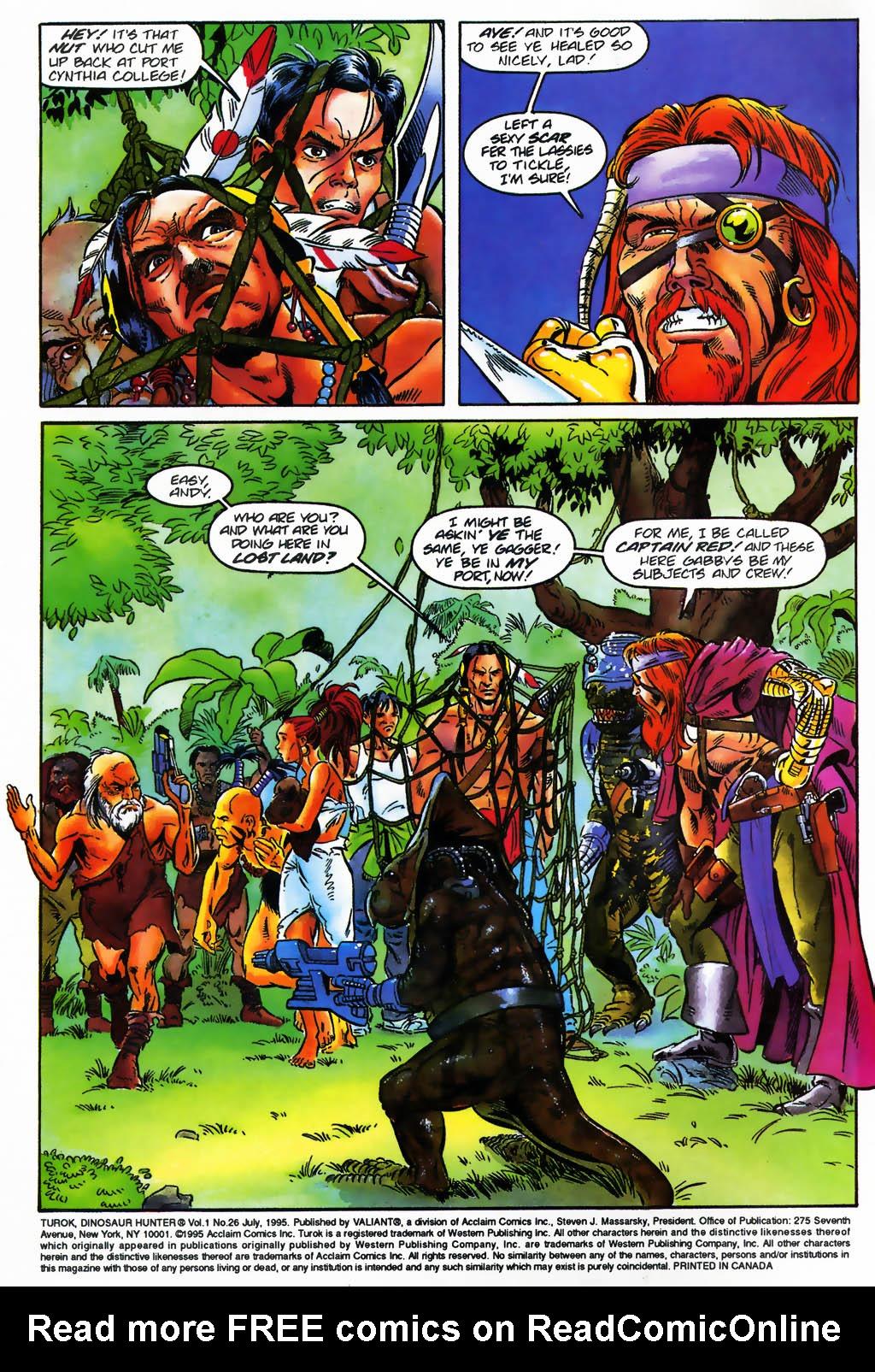 Read online Turok, Dinosaur Hunter (1993) comic -  Issue #26 - 3