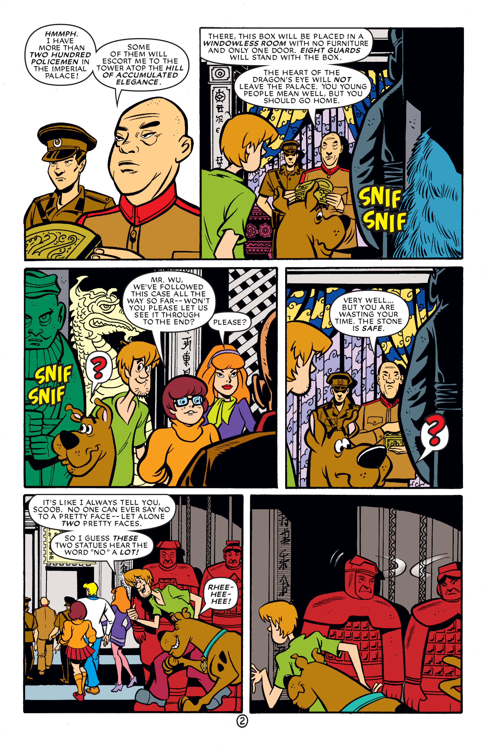 Read online Scooby-Doo (1997) comic -  Issue #65 - 13