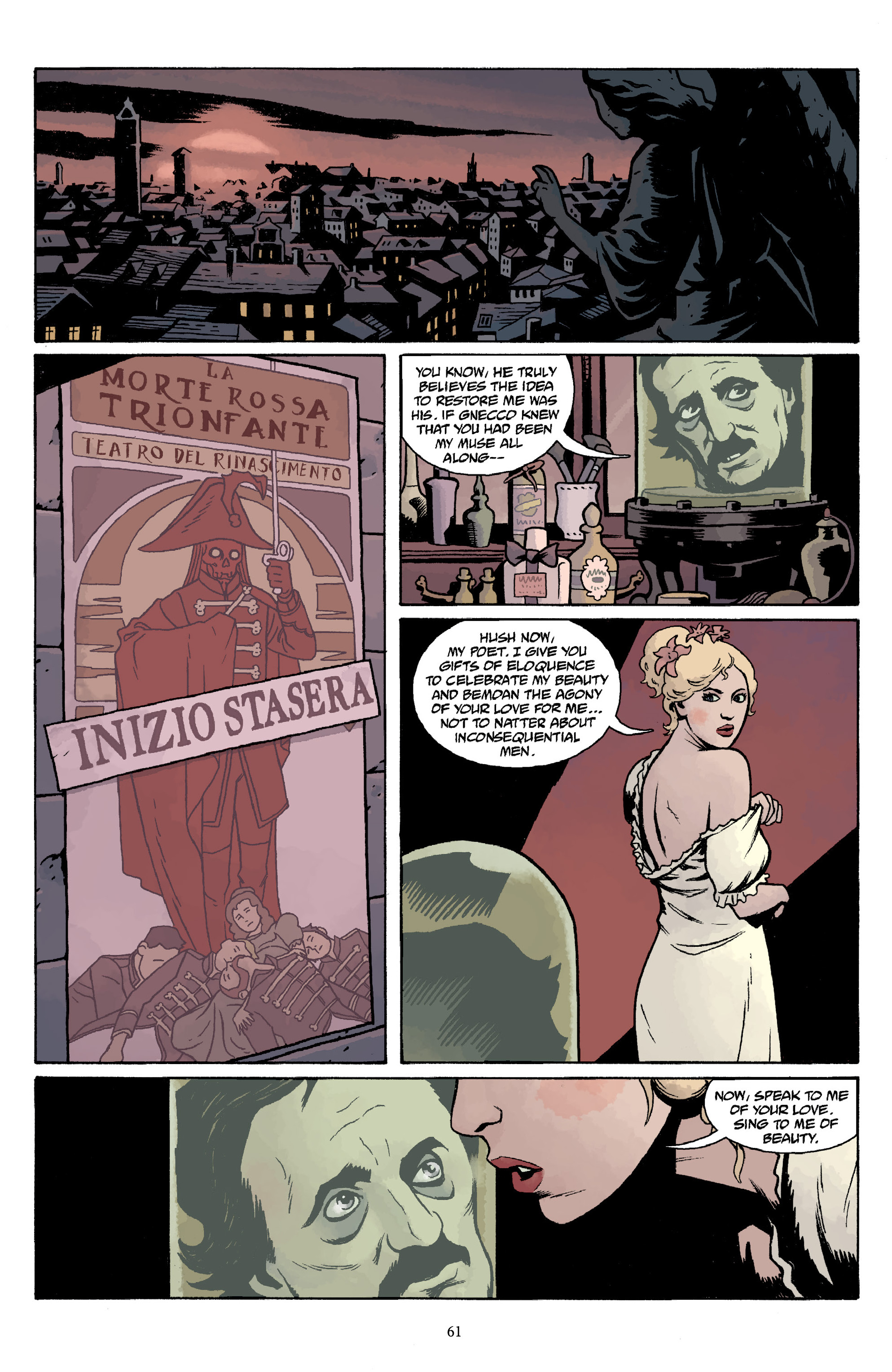 Read online Baltimore Volume 3: A Passing Stranger and Other Stories comic -  Issue # Full - 63