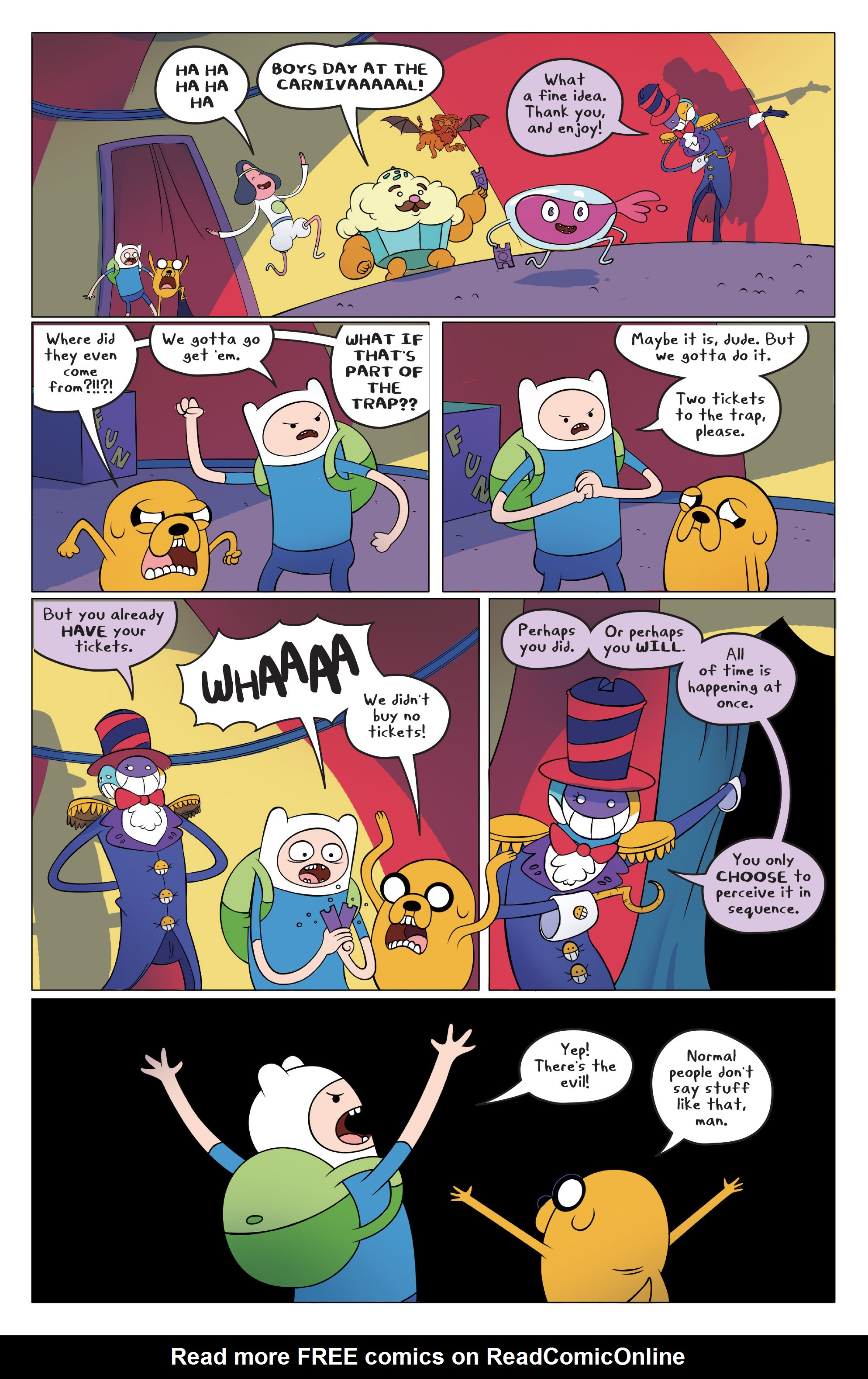 Read online Adventure Time comic -  Issue #45 - 6