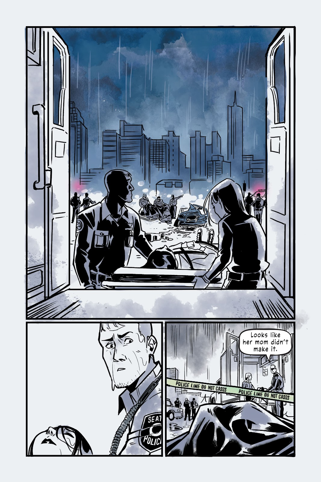 Read online Under the Moon: A Catwoman Tale comic -  Issue # TPB (Part 2) - 109