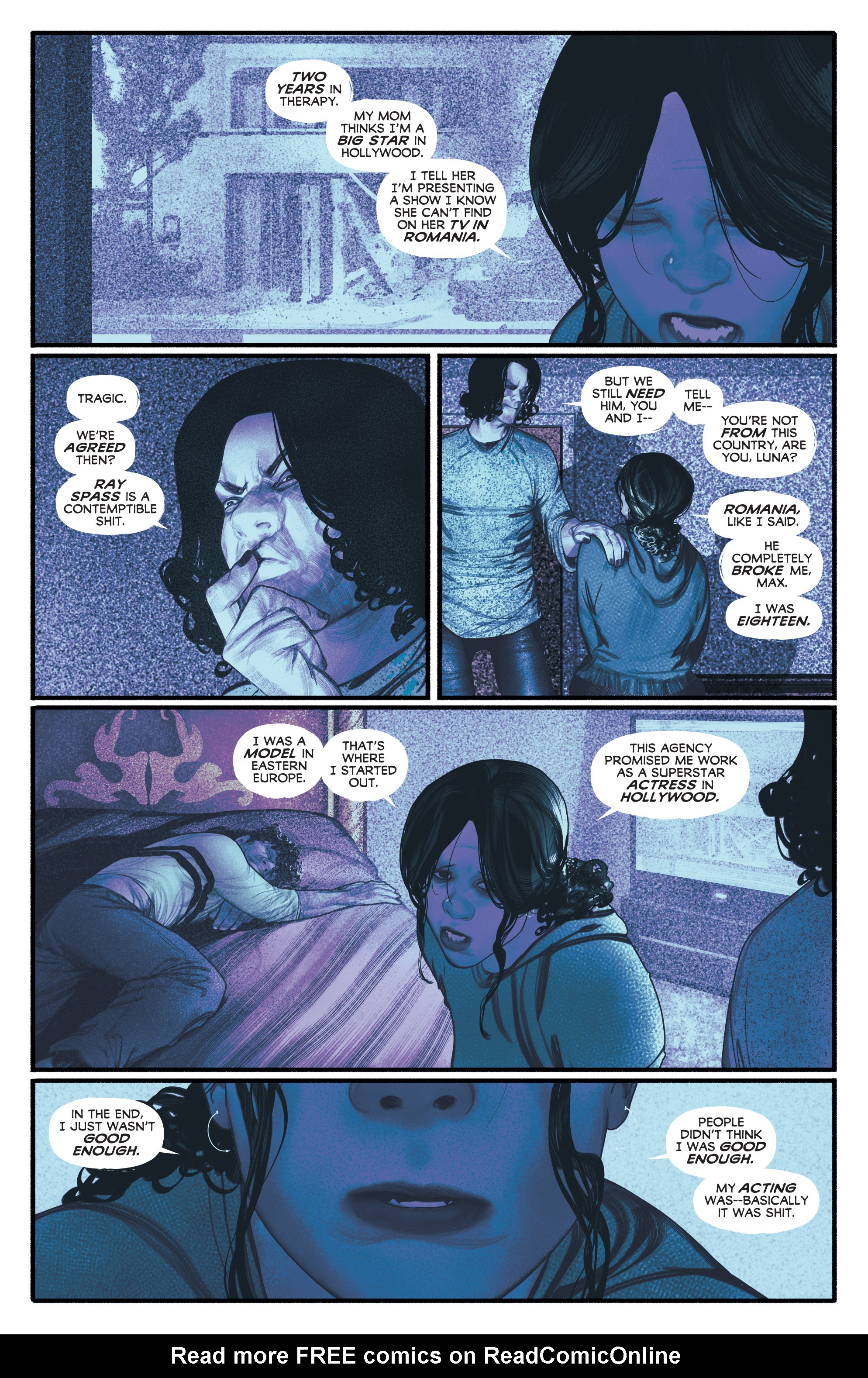 Read online Annihilator comic -  Issue #4 - 21