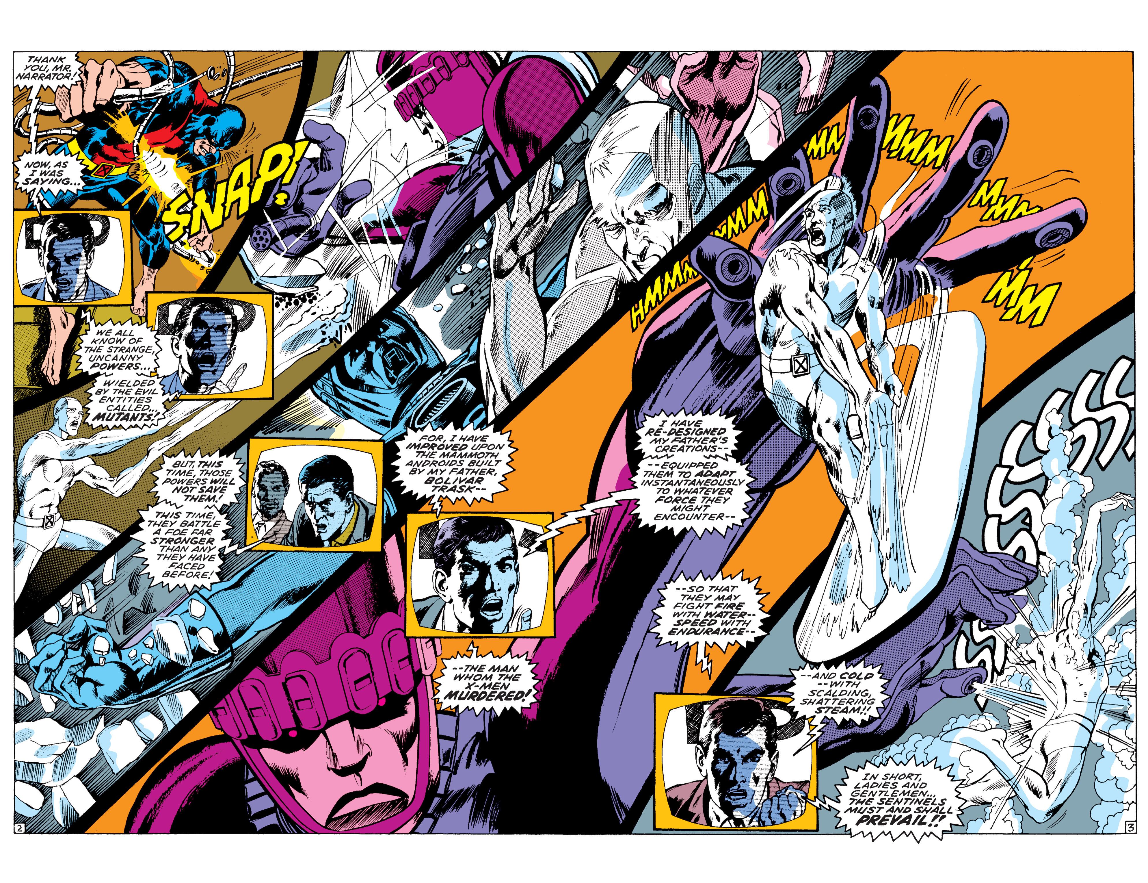 Read online Uncanny X-Men (1963) comic -  Issue #58 - 3