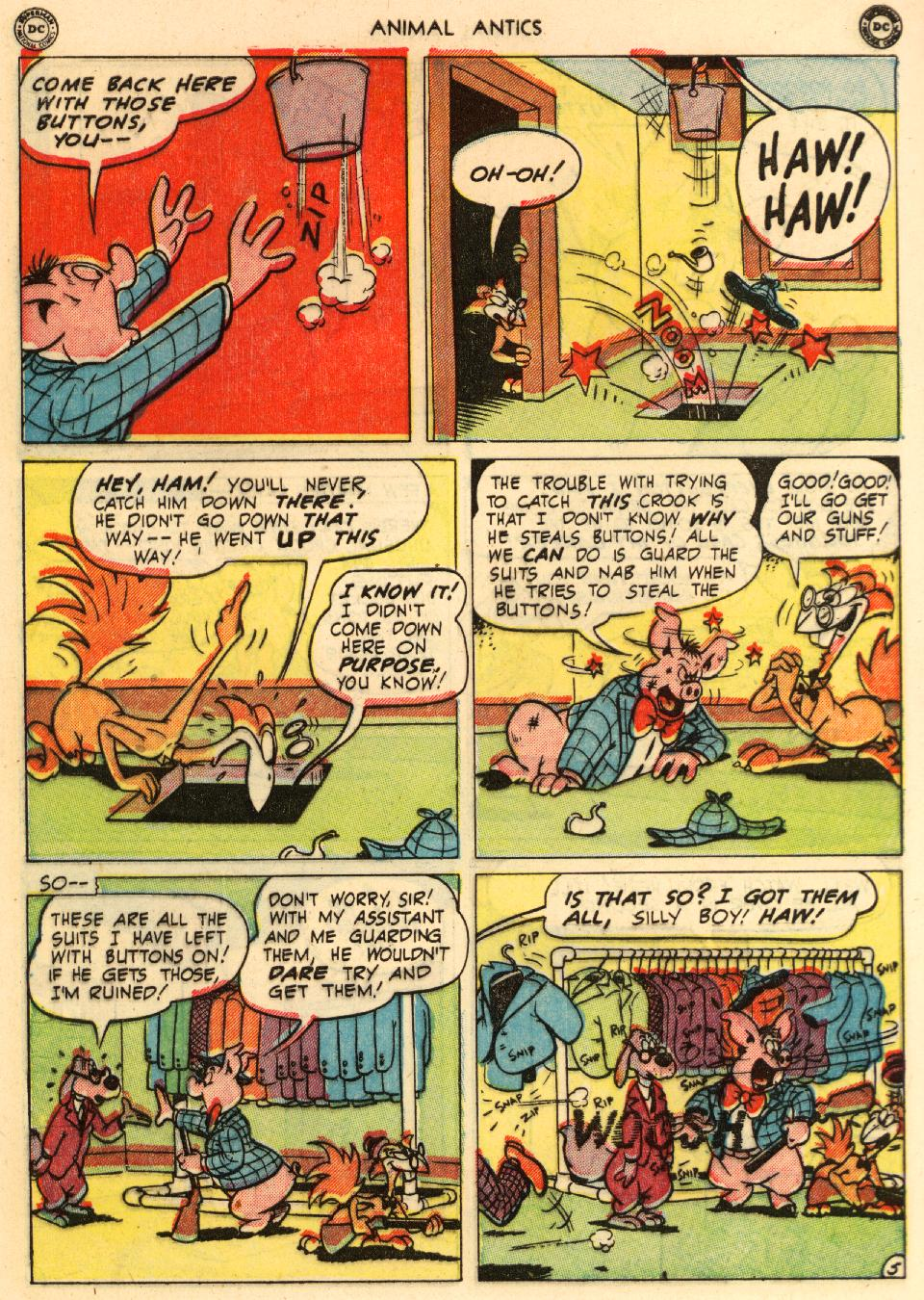 Read online Animal Antics comic -  Issue #29 - 46