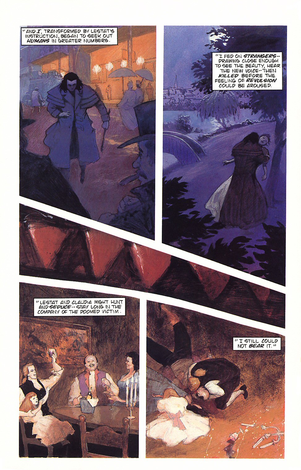 Read online Anne Rice's Interview with the Vampire comic -  Issue #4 - 8