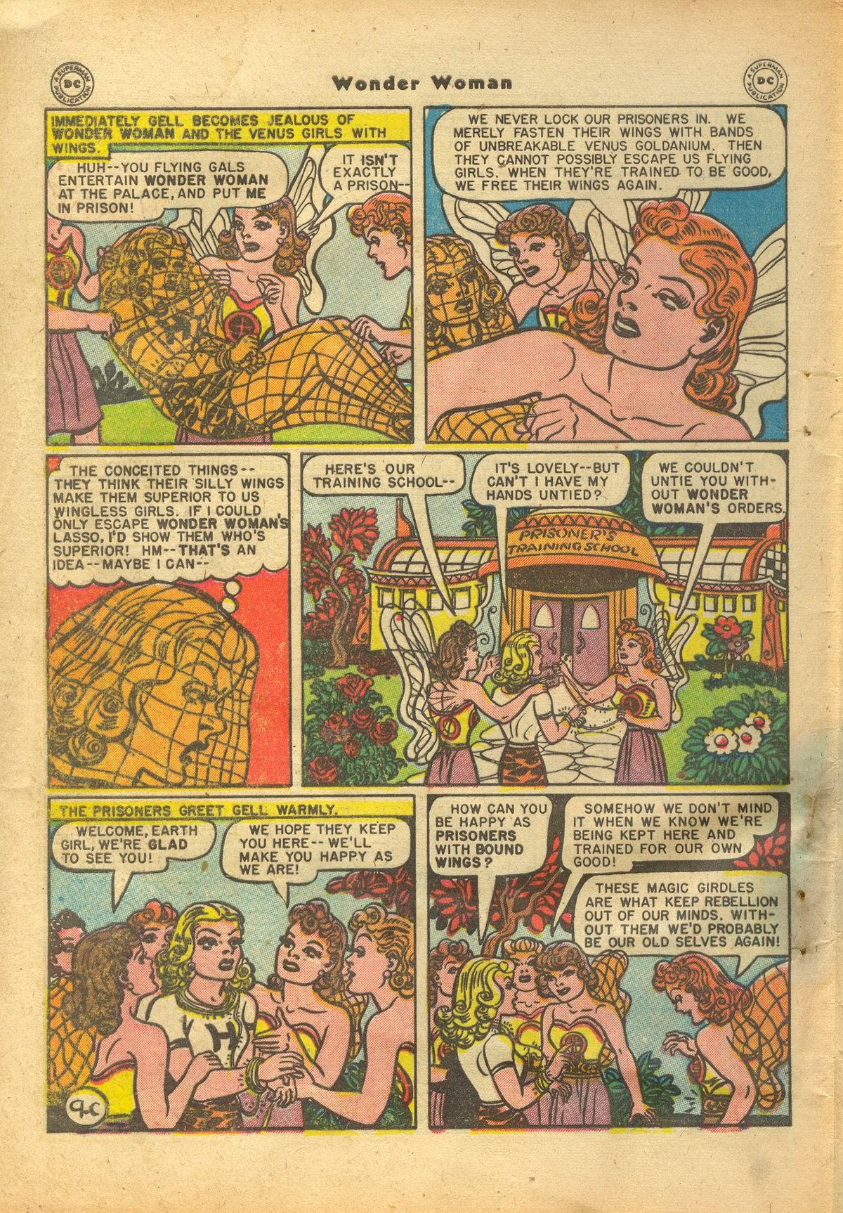 Read online Wonder Woman (1942) comic -  Issue #22 - 46