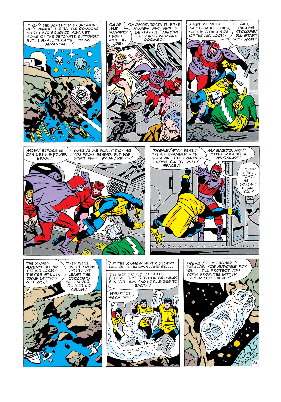 Read online Uncanny X-Men (1963) comic -  Issue #5 - 24