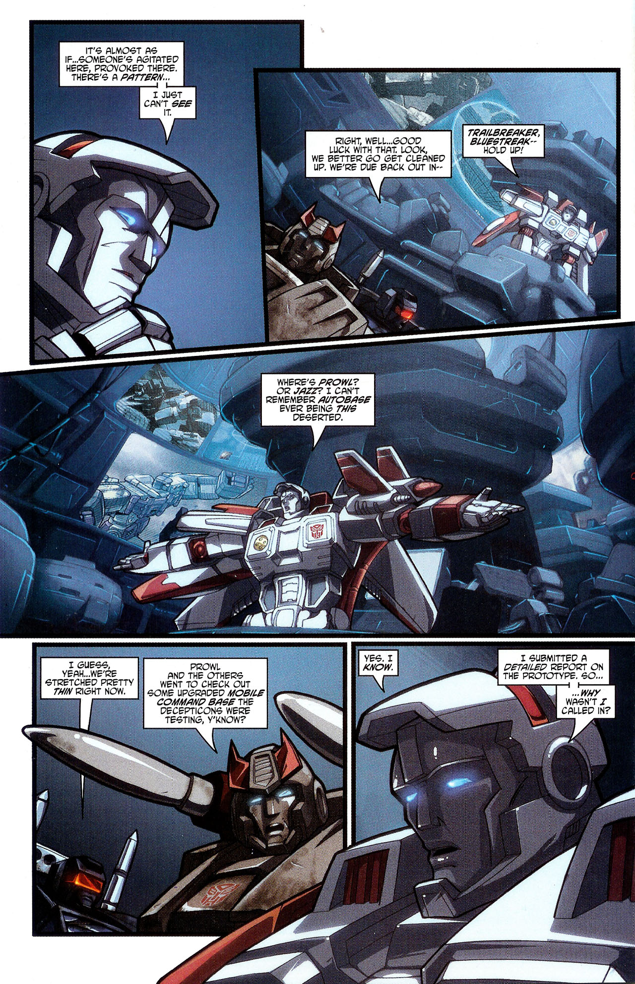 """Read online Transformers War Within: """"The Dark Ages"""" comic -  Issue #3 - 7"""