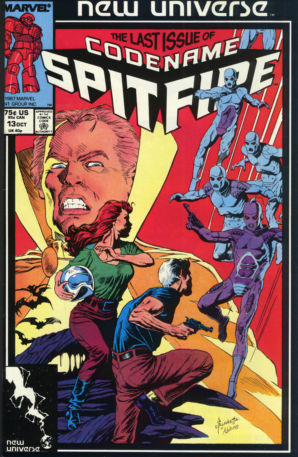 Read online Codename: Spitfire comic -  Issue #13 - 1