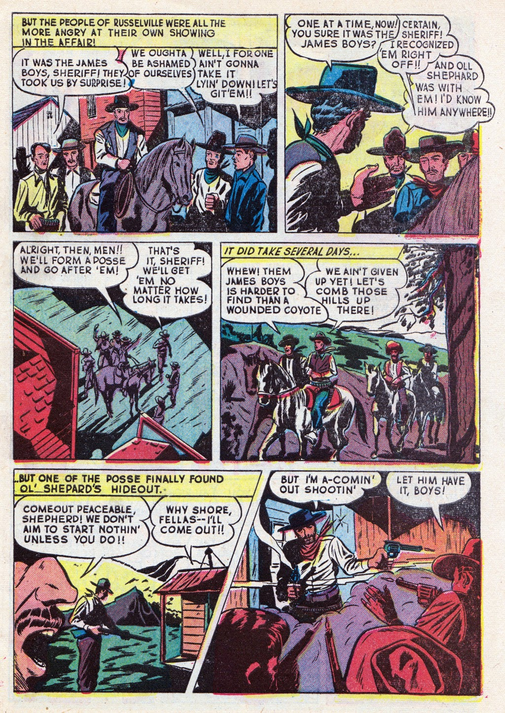 Cowboy Western Comics (1948) issue 18 - Page 5