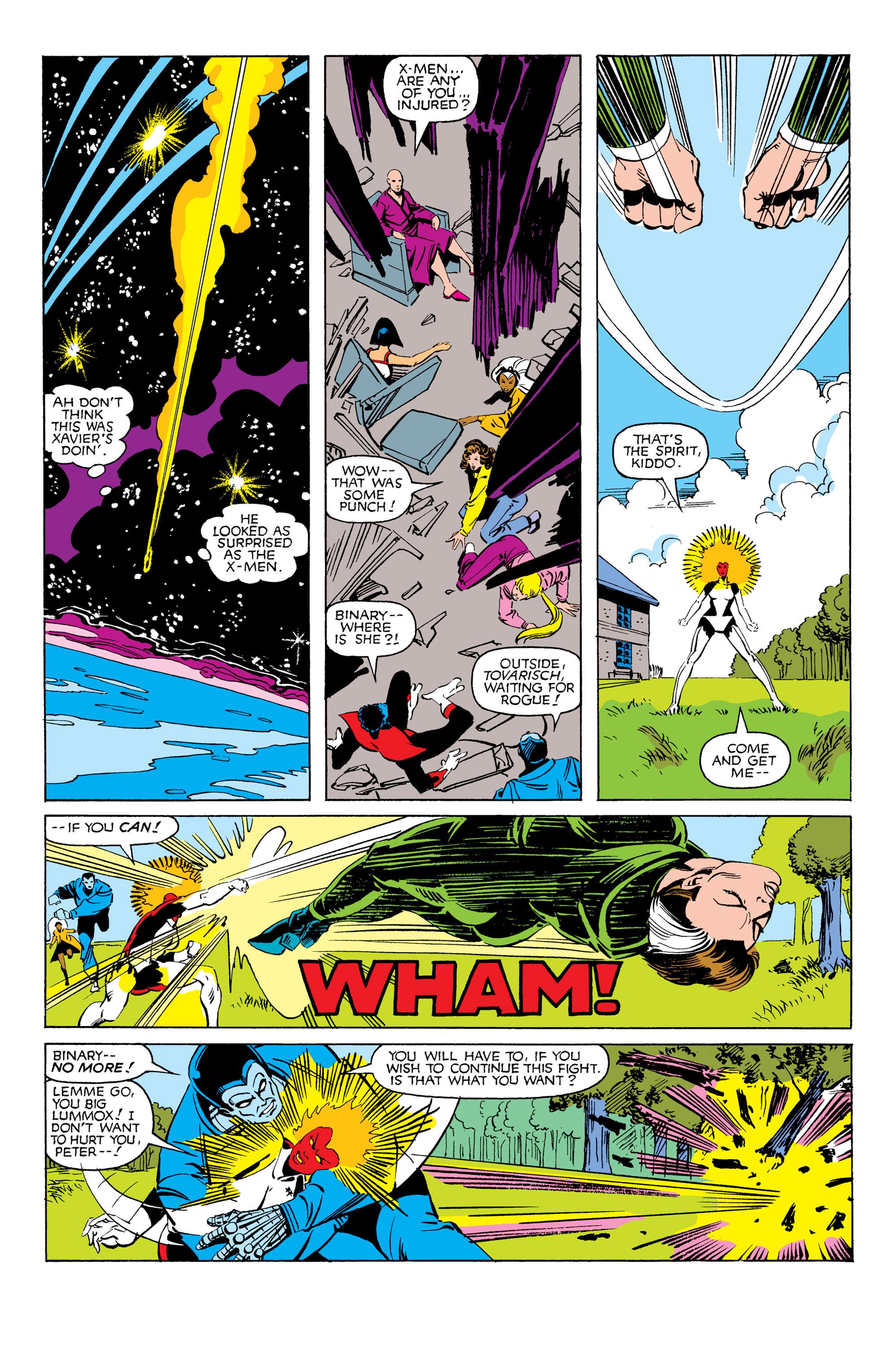 Read online Uncanny X-Men (1963) comic -  Issue #171 - 21