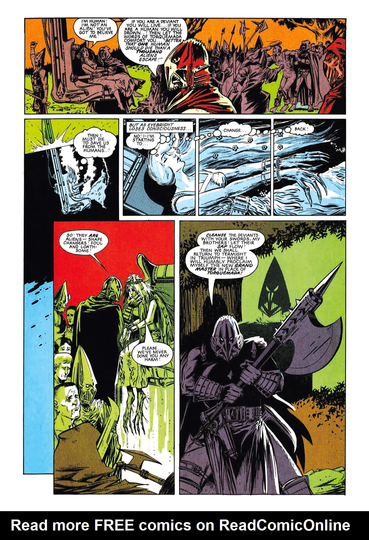 Read online Nemesis The Warlock comic -  Issue # TPB Deviant Edition - 22