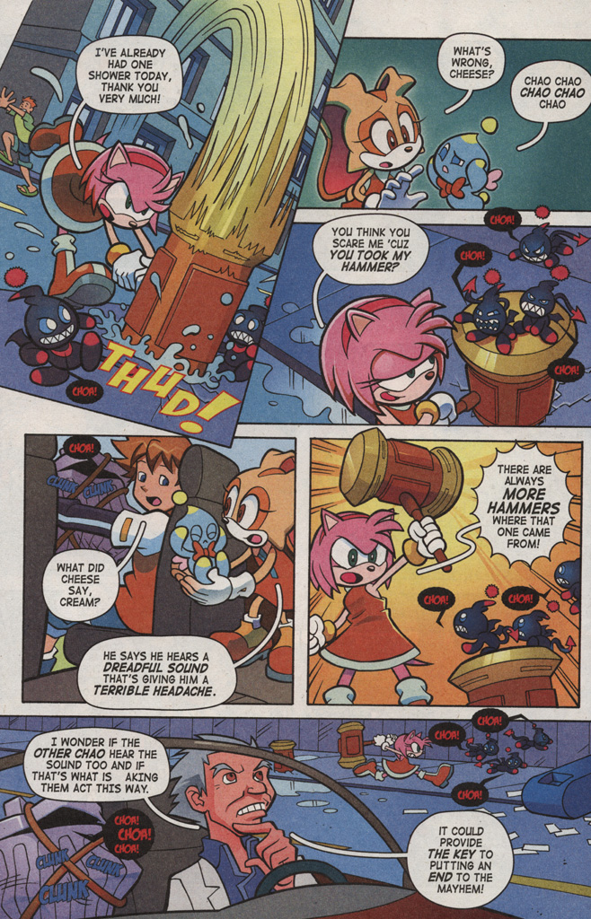Read online Sonic X comic -  Issue #6 - 12