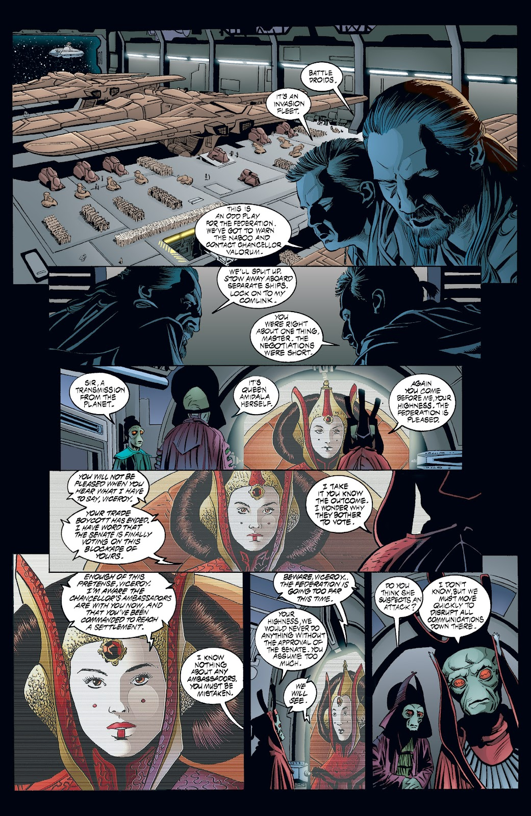Read online Star Wars Legends: Rise of the Sith - Epic Collection comic -  Issue # TPB 2 (Part 3) - 46