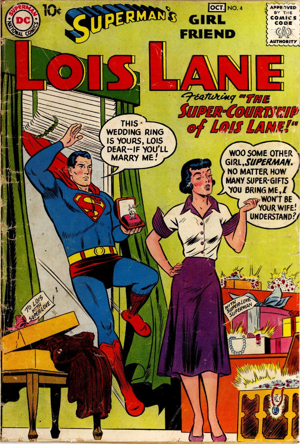 Supermans Girl Friend, Lois Lane 4 Page 1