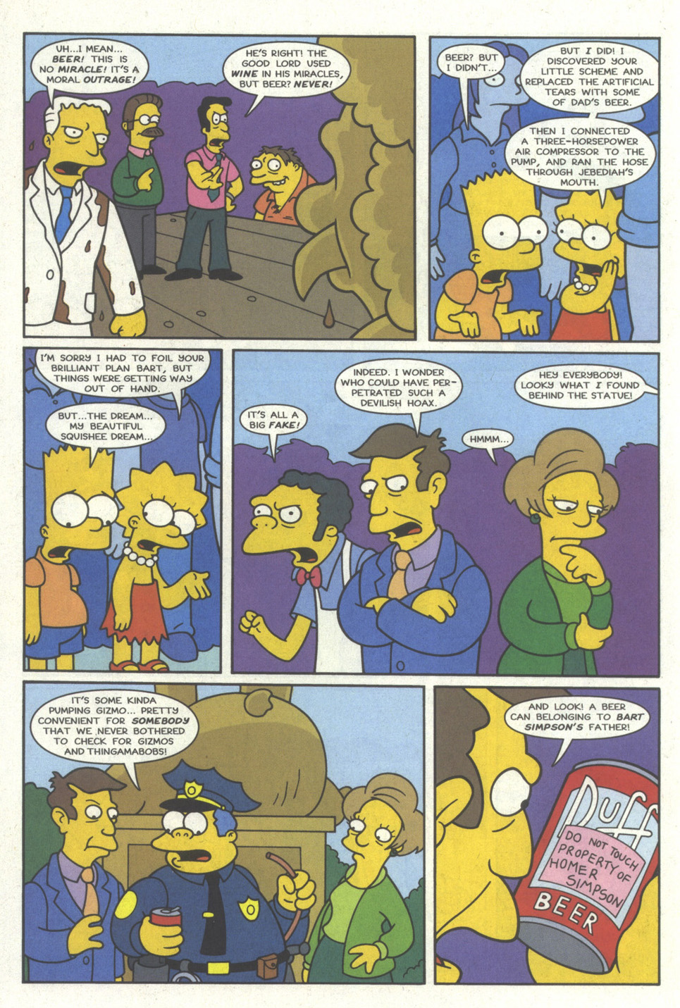 Read online Simpsons Comics comic -  Issue #19 - 19