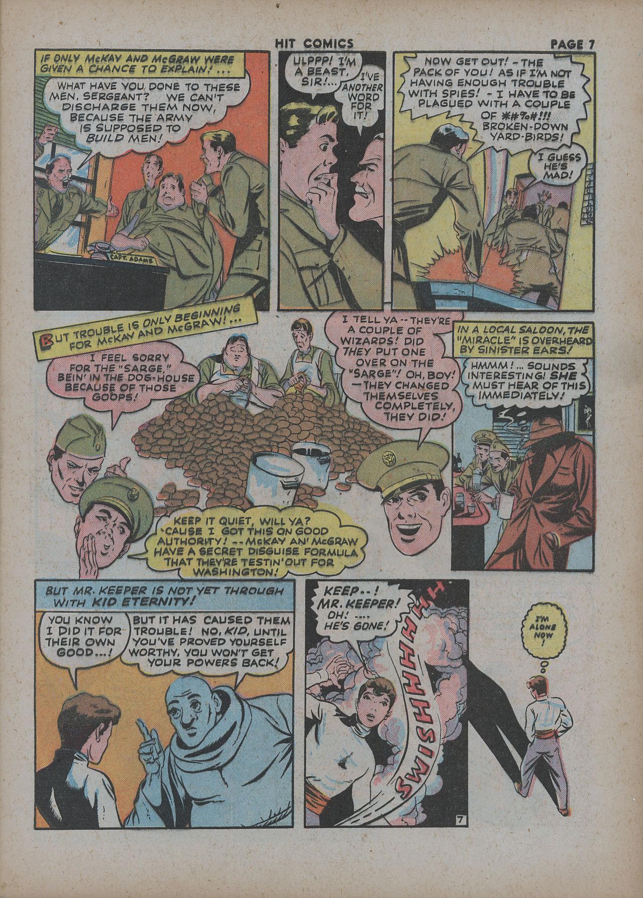 Read online Hit Comics comic -  Issue #27 - 9