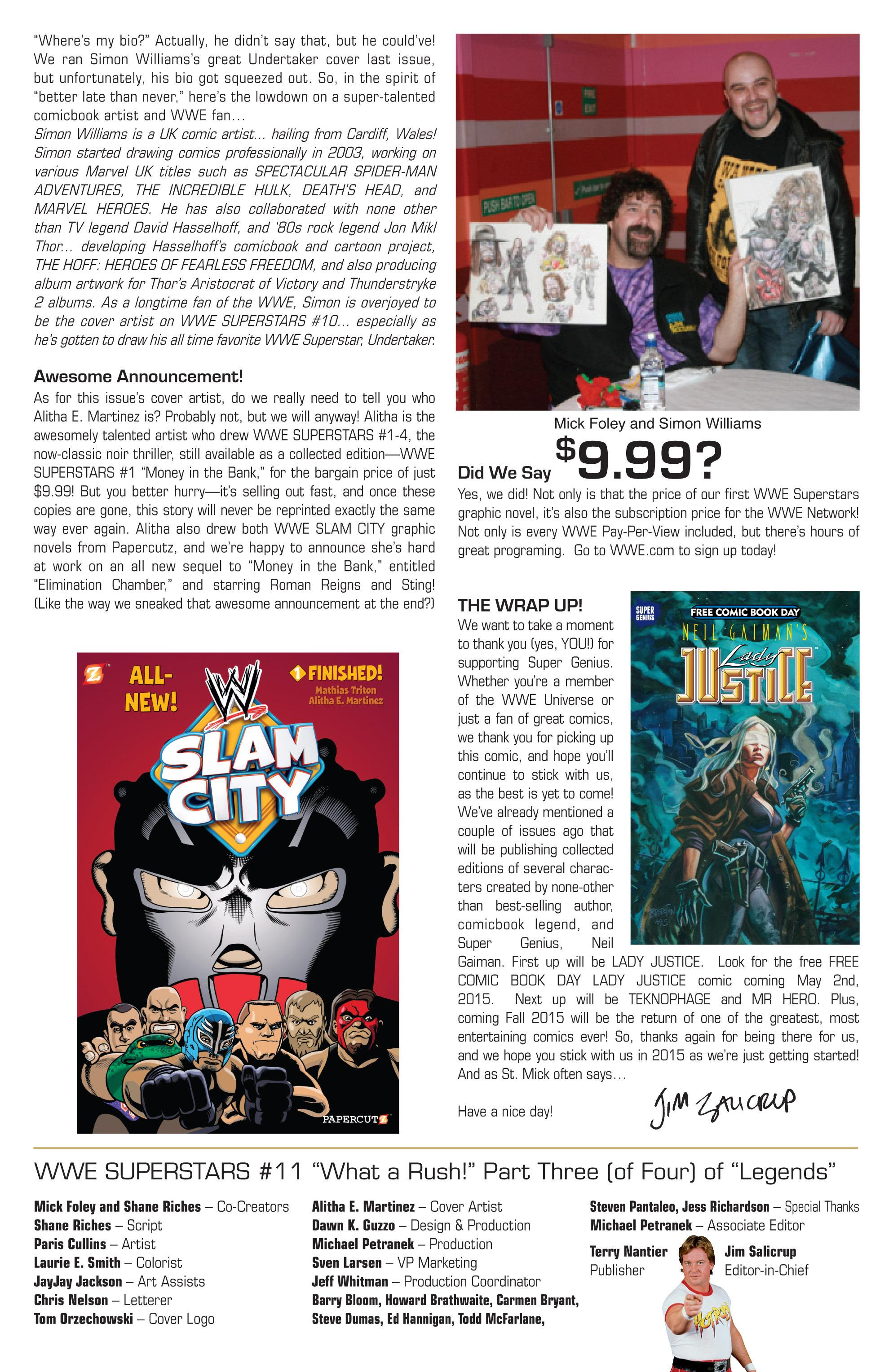 Read online WWE Superstars comic -  Issue #11 - 28