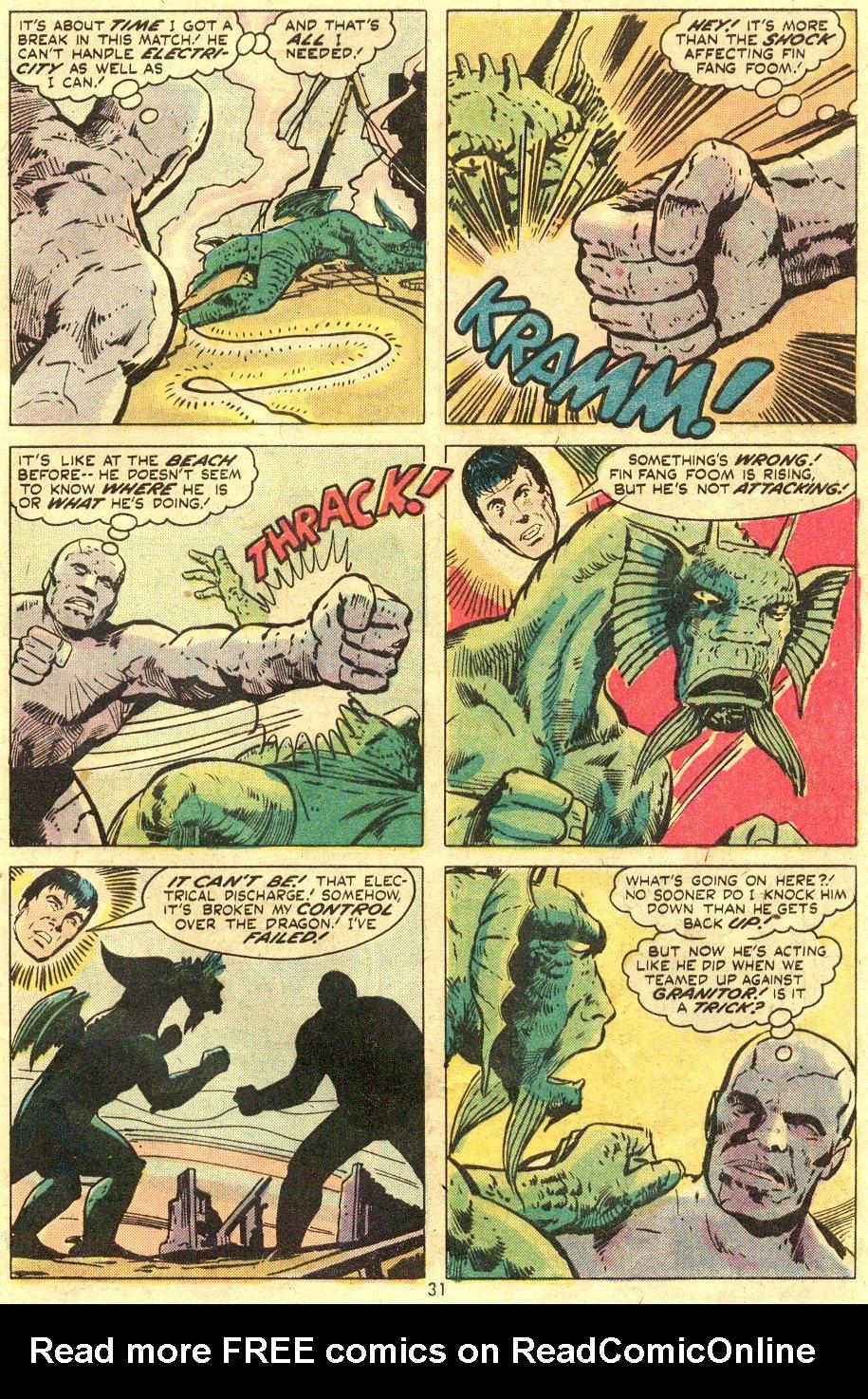 Read online Astonishing Tales (1970) comic -  Issue #24 - 20