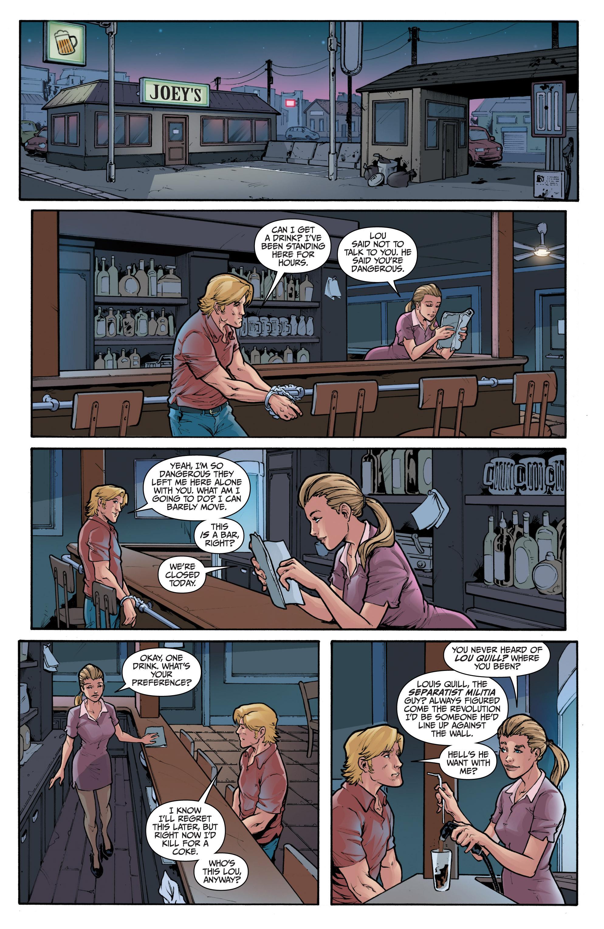 Read online 3 Guns comic -  Issue #1 - 6