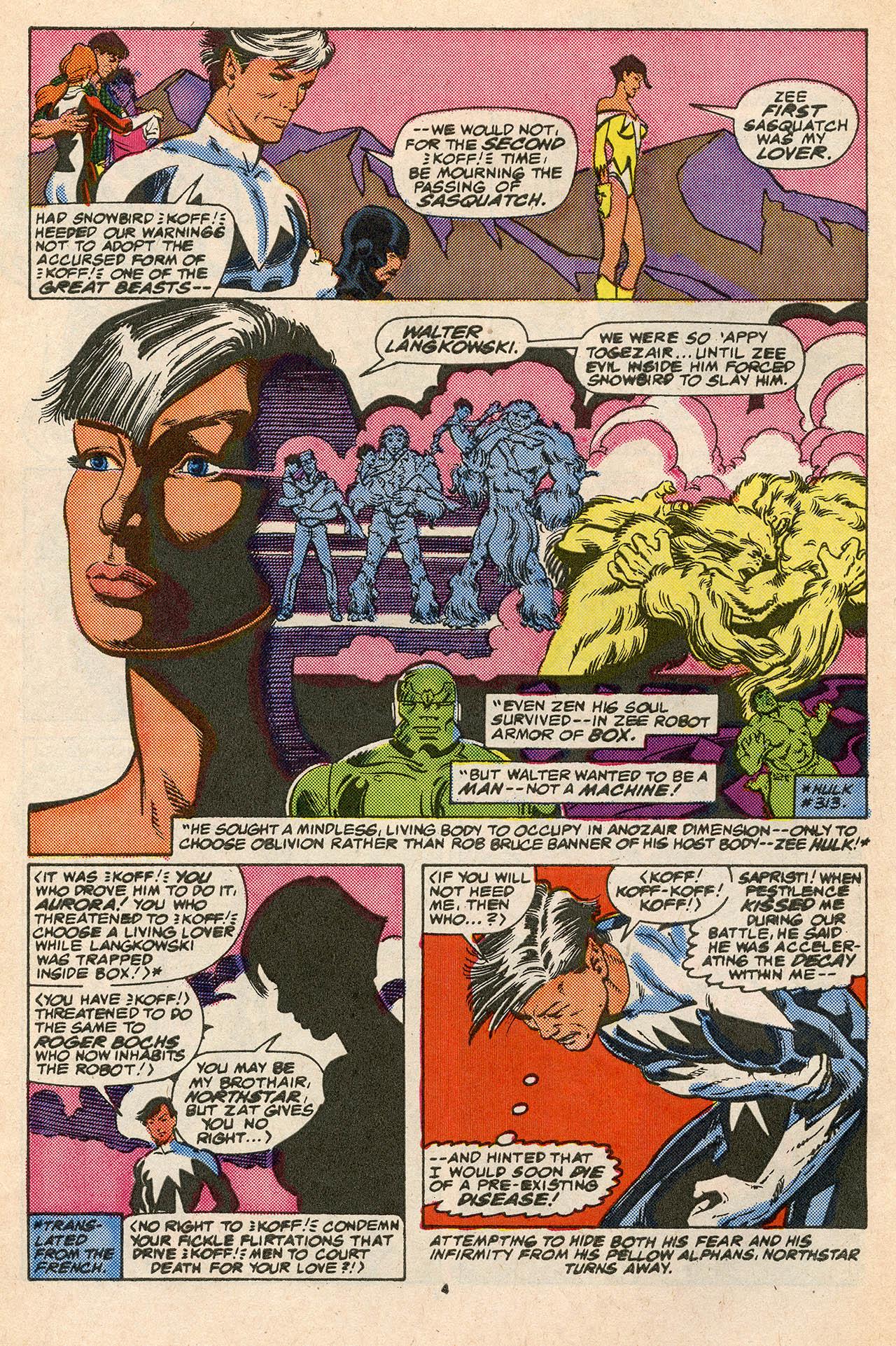 Read online Alpha Flight (1983) comic -  Issue #45 - 6