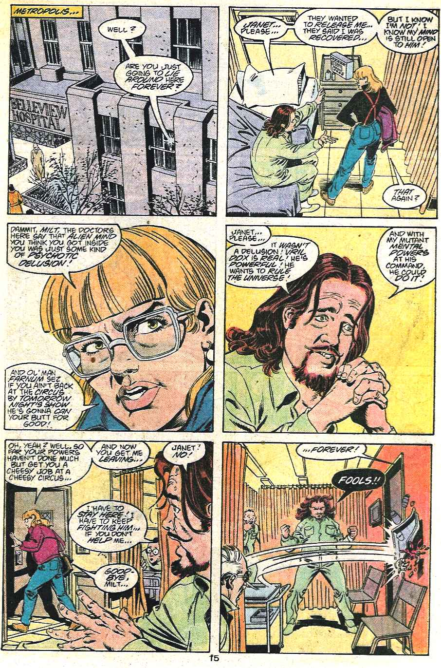 Read online Adventures of Superman (1987) comic -  Issue #441 - 16