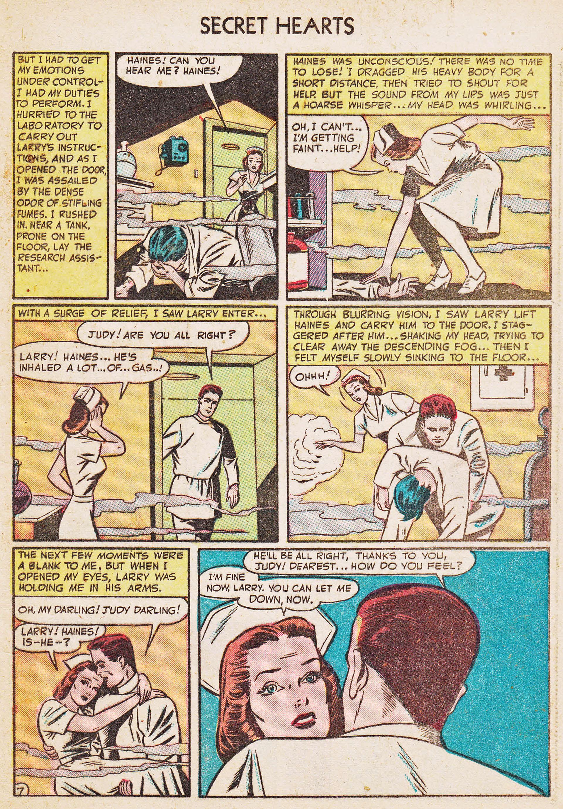 Read online Secret Hearts comic -  Issue #7 - 23