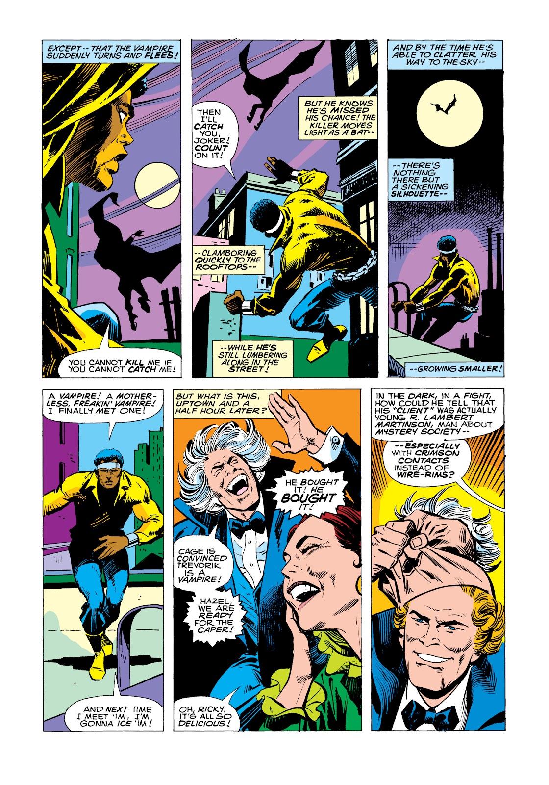 Read online Marvel Masterworks: Luke Cage, Power Man comic -  Issue # TPB 2 (Part 2) - 92