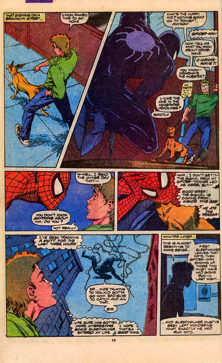 Read online Sleepwalker comic -  Issue #5 - 12