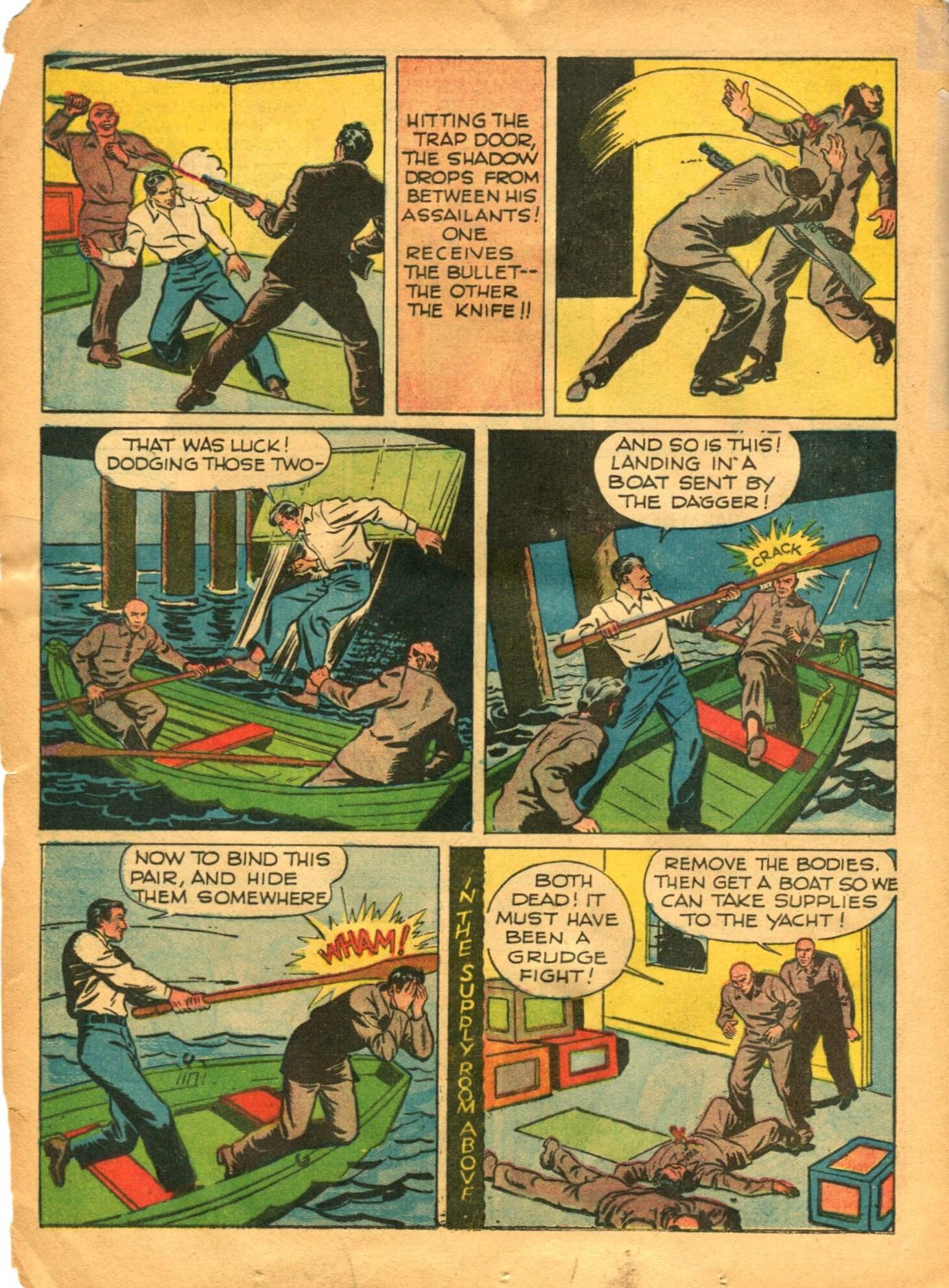 Read online Shadow Comics comic -  Issue #12 - 22