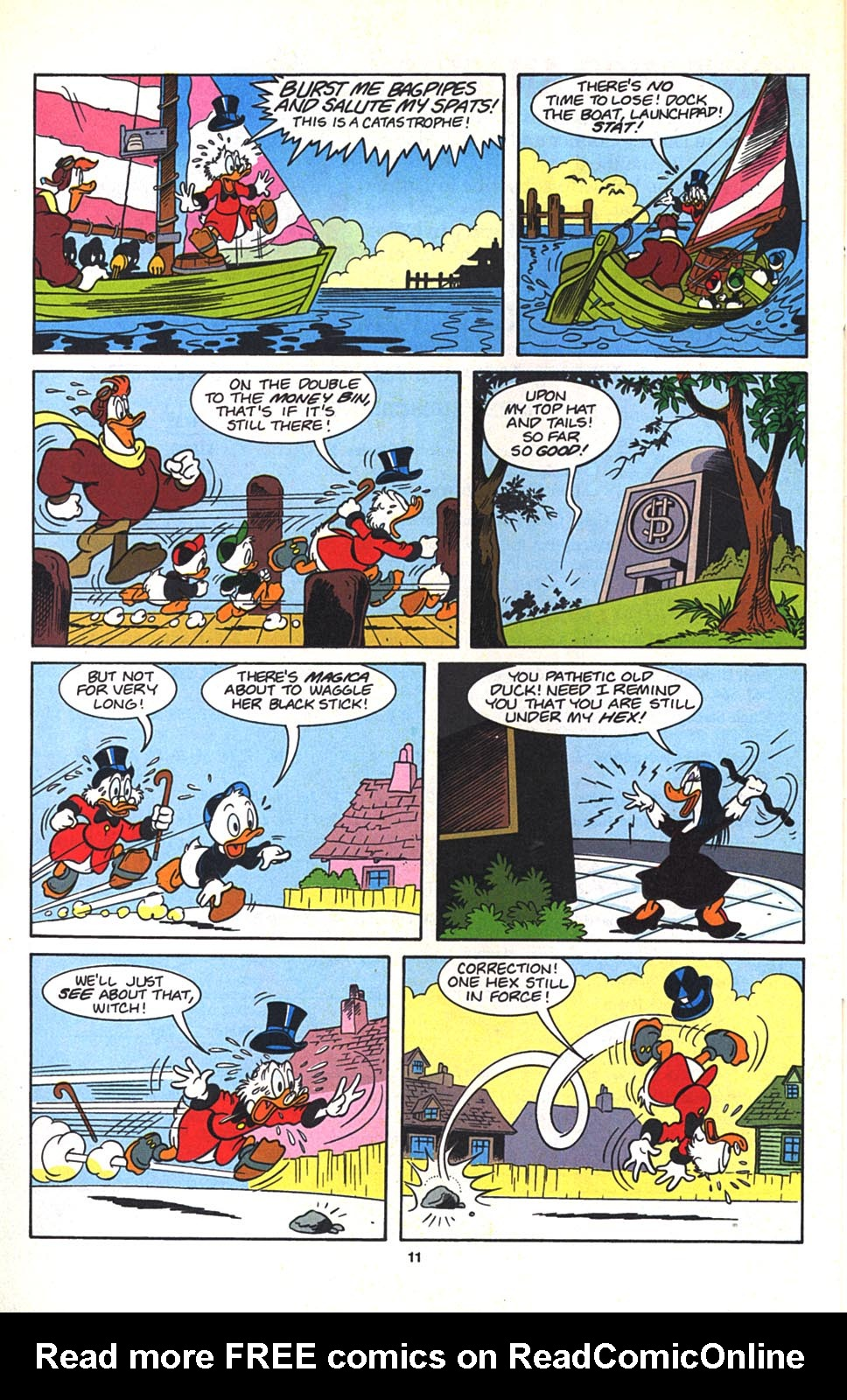 Read online Uncle Scrooge (1953) comic -  Issue #270 - 22