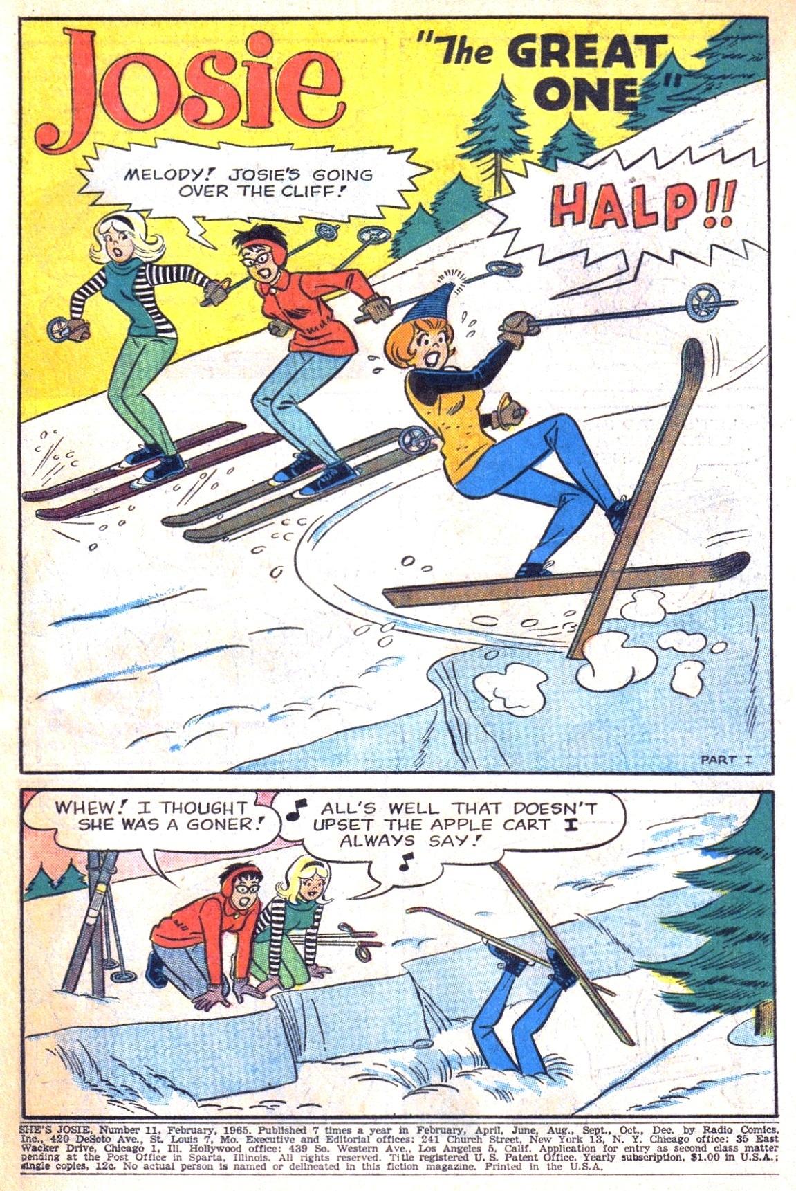 Read online She's Josie comic -  Issue #11 - 3