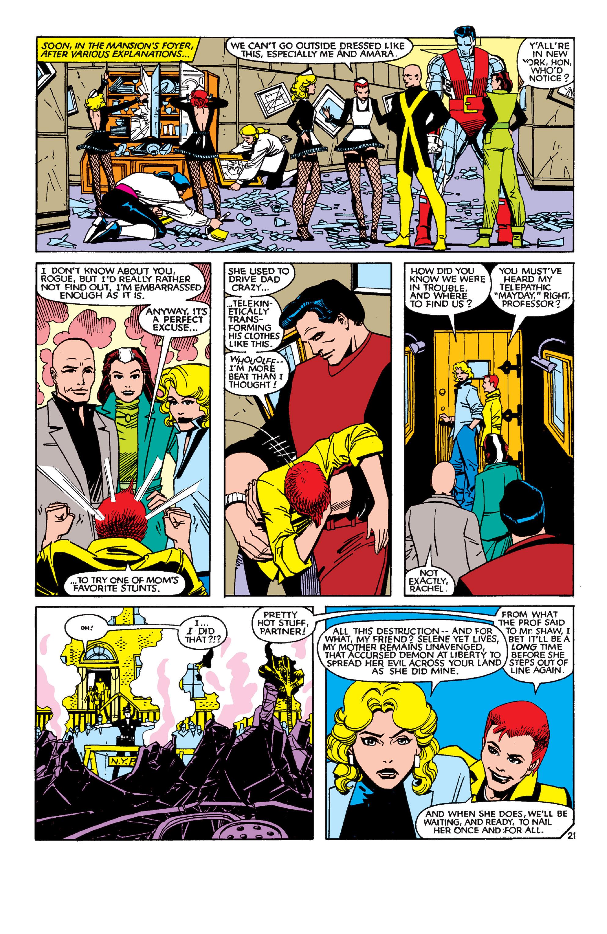 Read online Uncanny X-Men (1963) comic -  Issue #189 - 21