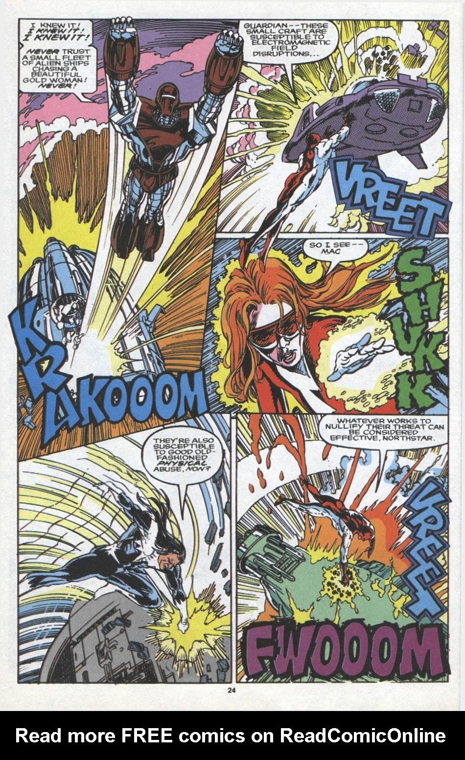 Read online Alpha Flight (1983) comic -  Issue #97 - 19