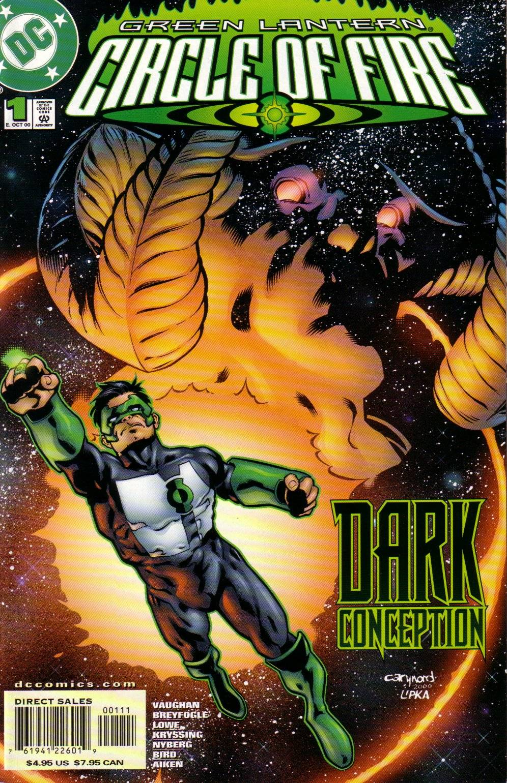 Green Lantern: Circle of Fire 1 Page 1