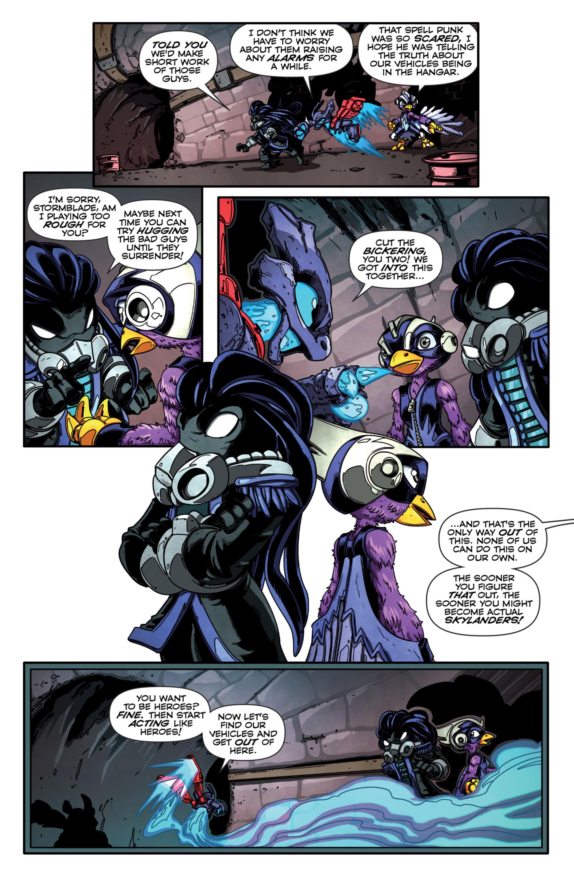 Read online Skylanders Superchargers comic -  Issue #2 - 14
