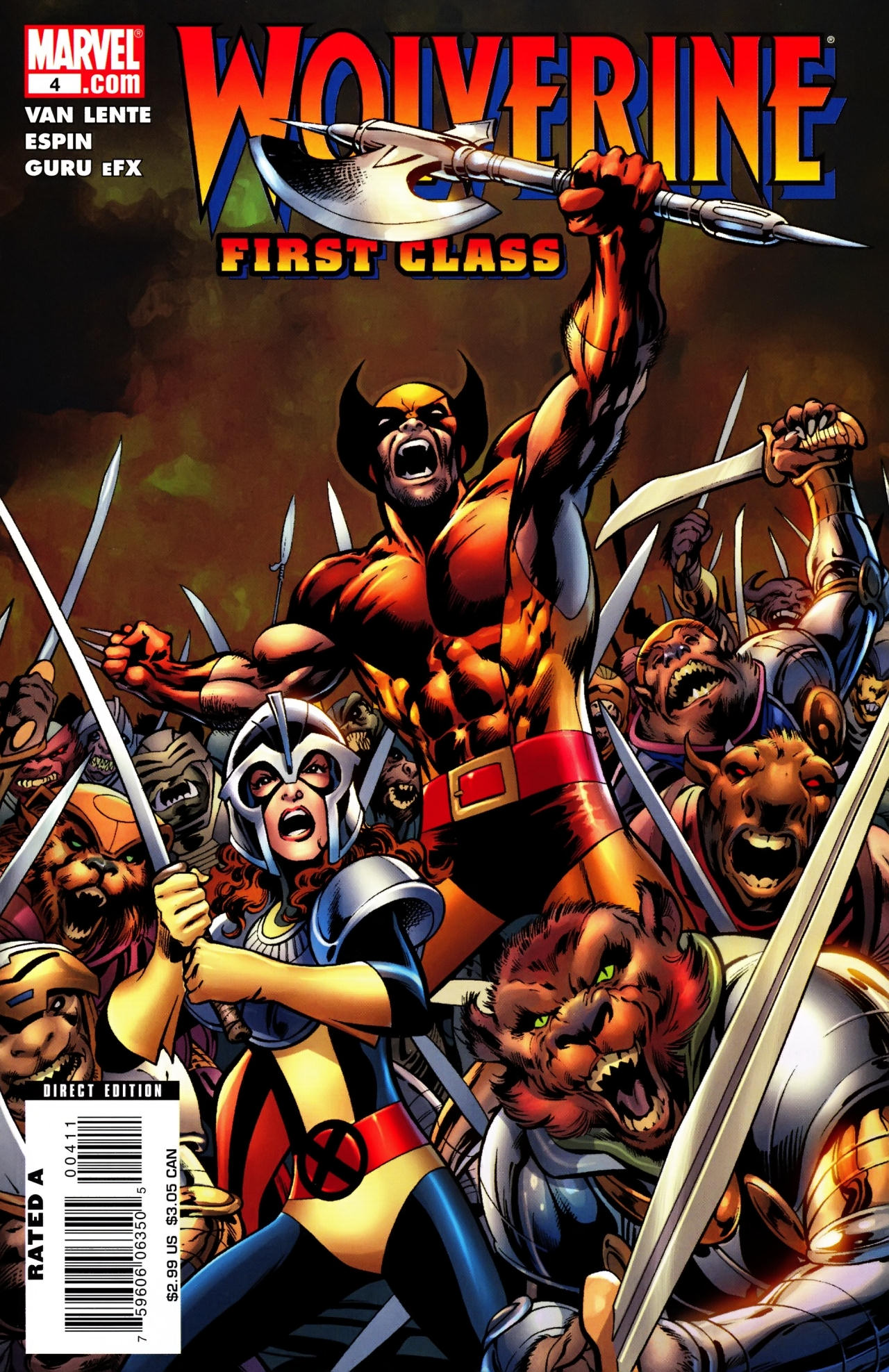 Read online Wolverine: First Class comic -  Issue #4 - 1