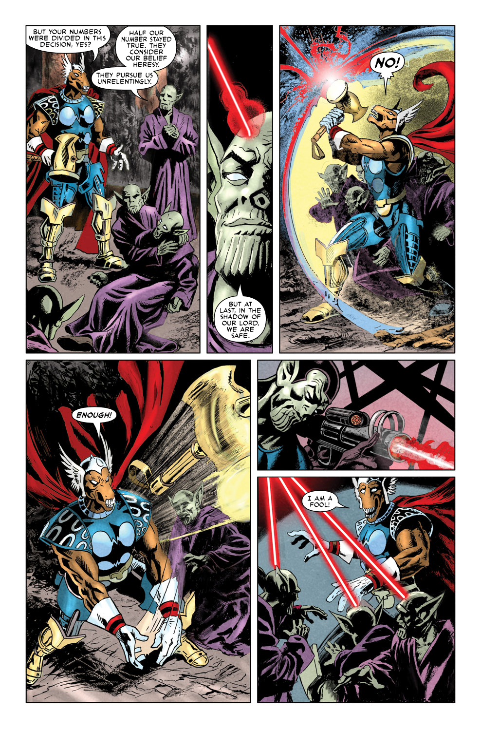 Read online Secret Invasion Aftermath: Beta Ray Bill - The Green of Eden comic -  Issue # Full - 16