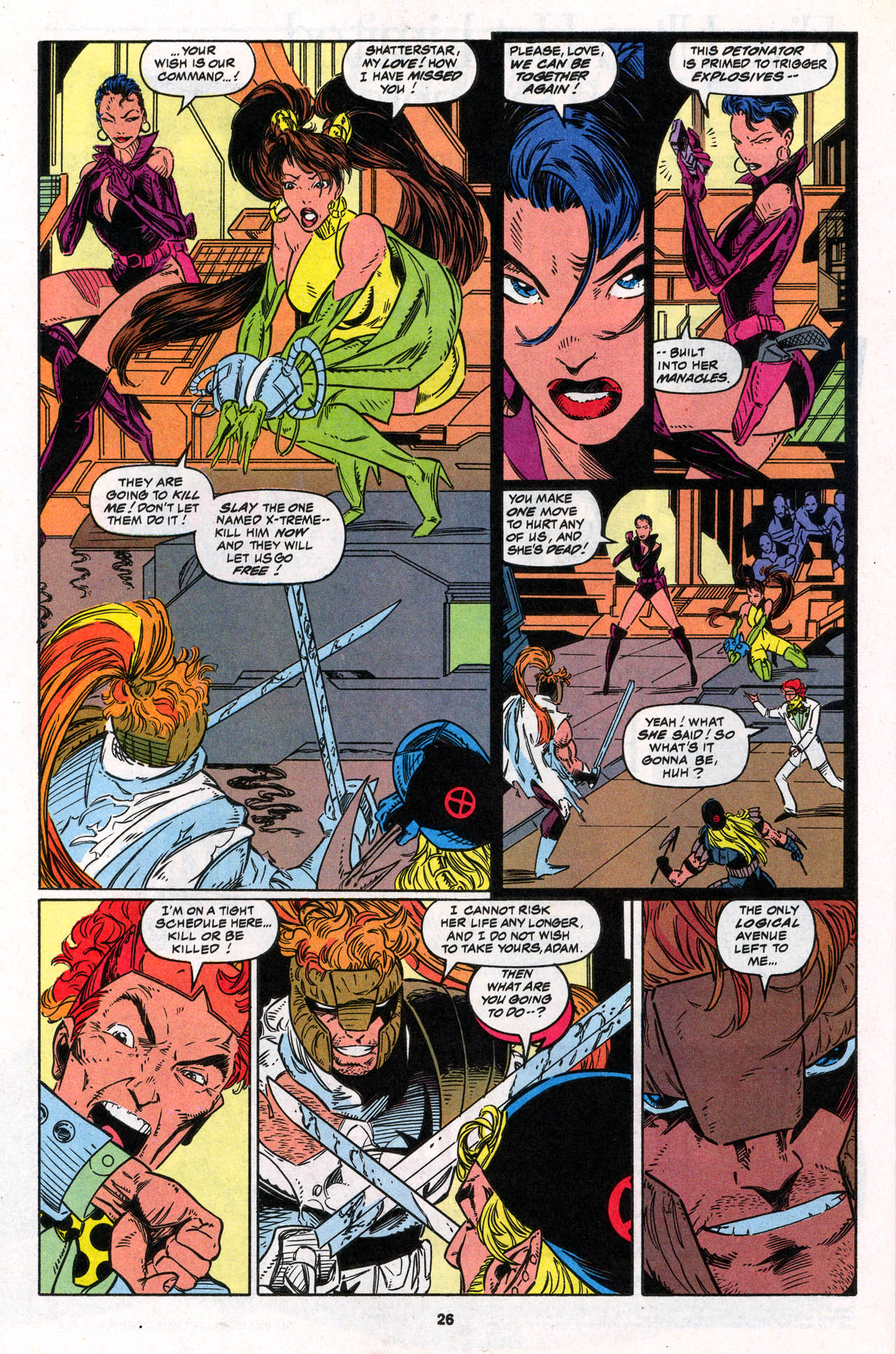 Read online X-Force (1991) comic -  Issue #30 - 27