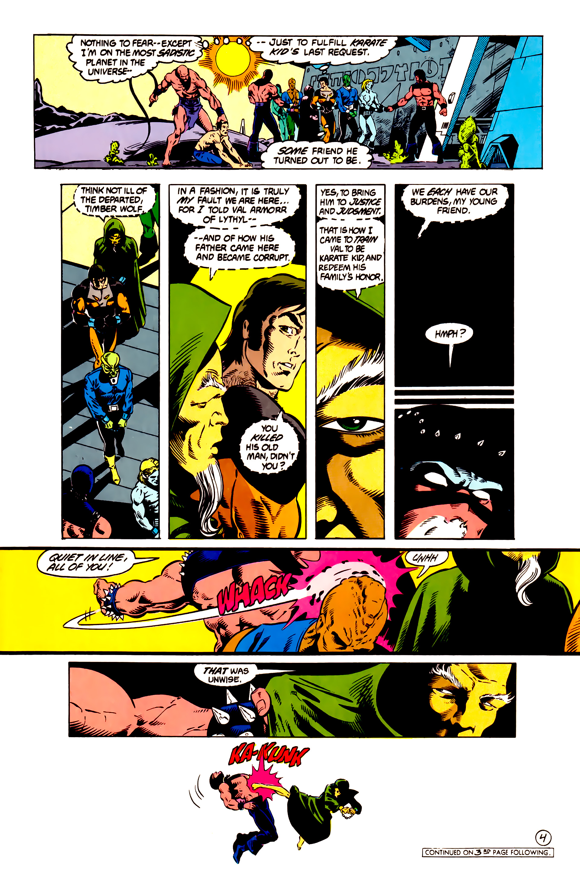 Legion of Super-Heroes (1984) 13 Page 5