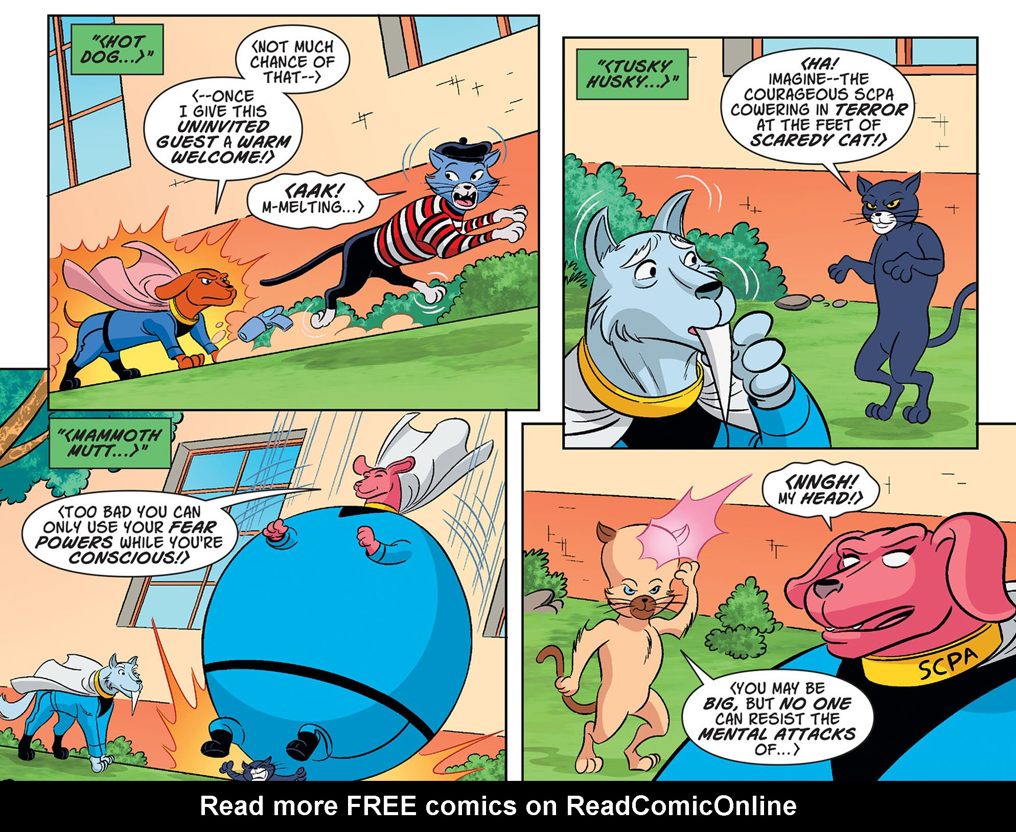 Read online Scooby-Doo! Team-Up comic -  Issue #35 - 17