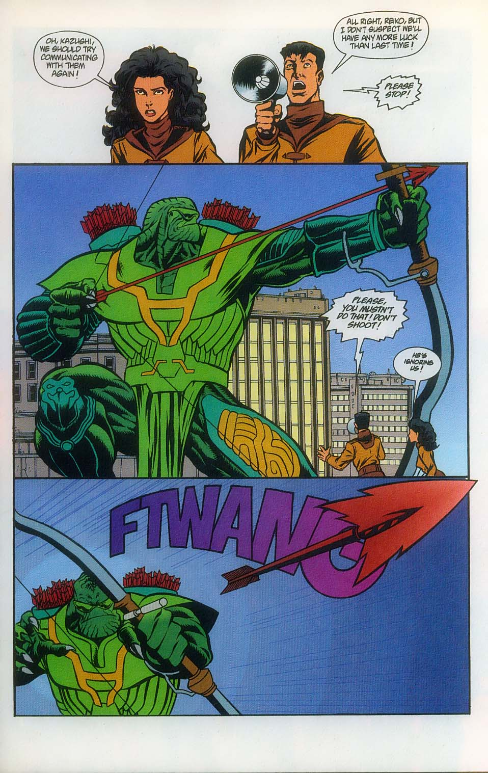 Godzilla (1995) Issue #7 #8 - English 6