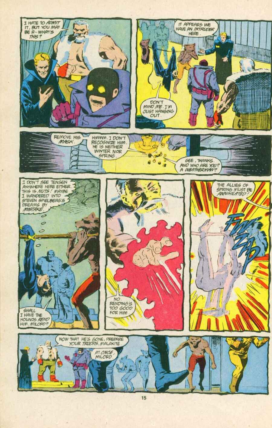 Read online Justice (1986) comic -  Issue #15 - 16