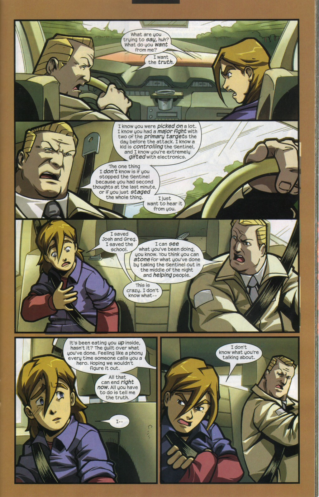 Read online Sentinel comic -  Issue #11 - 15