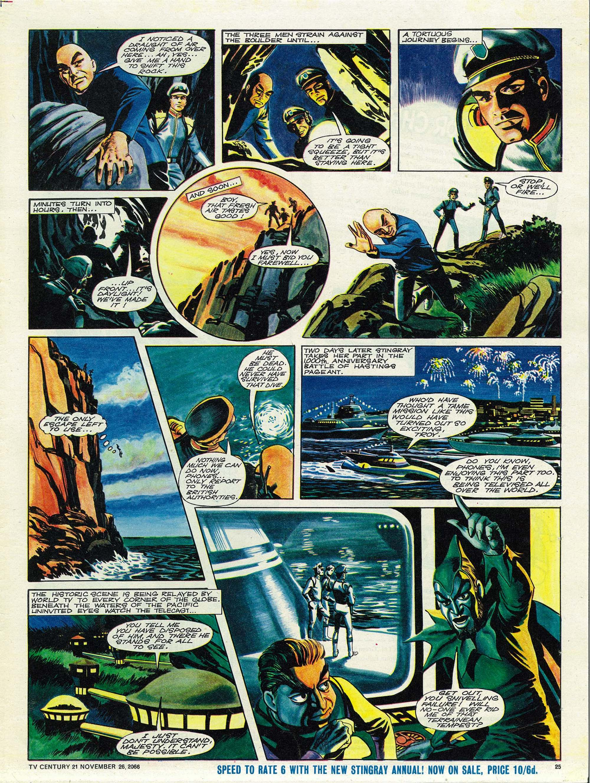 Read online TV Century 21 (TV 21) comic -  Issue #97 - 24